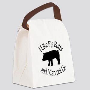 I Like Pig Butts and I Can not Lie Canvas Lunch Ba