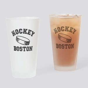 Hockey Boston Drinking Glass