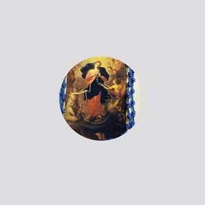 Mary Undoer of Knots Mini Button