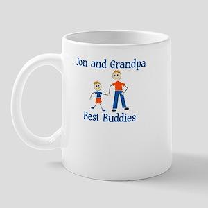 Jon & Grandpa - Best Buddies Mug
