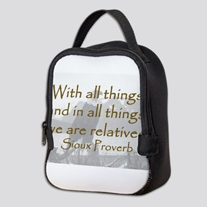 With All Things Neoprene Lunch Bag