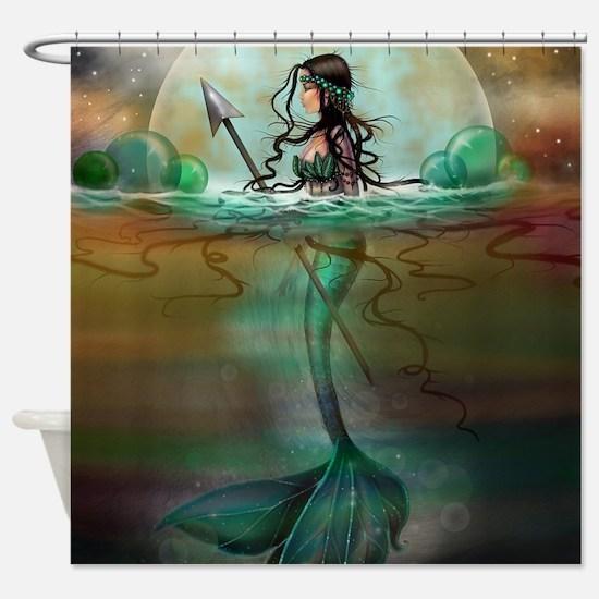 Cute Mermaids Shower Curtain