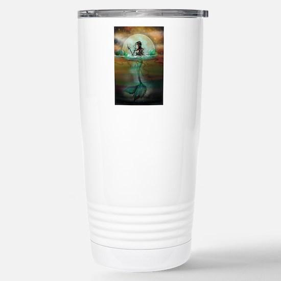 Unique Mermaids Travel Mug