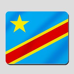 Congolese Flag Mousepad