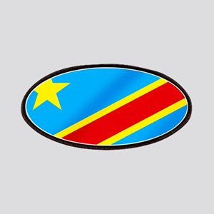 Congolese Flag Patches
