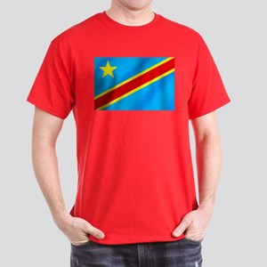 Congolese Flag Dark T-Shirt
