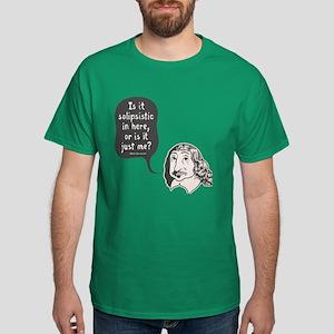 Descartes Solipsism Dark T-Shirt