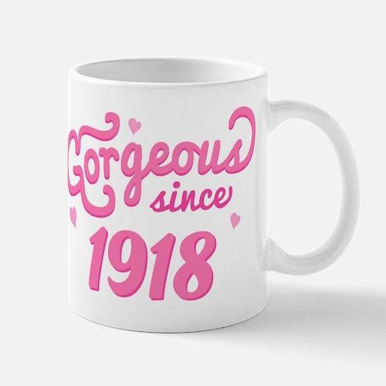 1918 Birth Year Birthday Mug