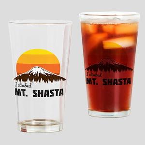 I climbed Mt. Shasta Drinking Glass