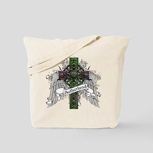 Sutherland Tartan Cross Tote Bag