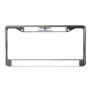 AVSIG License Plate Frame