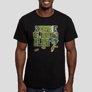 Zombie Climbing Club Men's Fitted T-Shirt (dark)