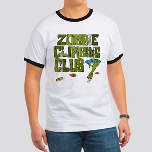 Zombie Climbing Club Ringer T