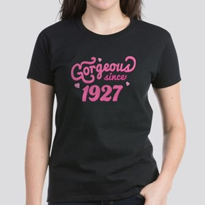 1927 Birth Year Gorgeous Women's Dark T-Shirt