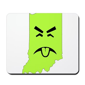 more than corn in Indiana mousepad