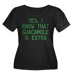 I Know G Women's Plus Size Scoop Neck Dark T-Shirt