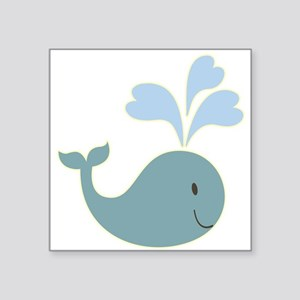 Cute Whale Sticker