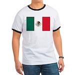 Mexico Flag Ringer T