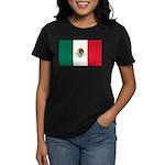 Mexico Flag Women's Dark T-Shirt