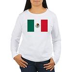 Mexico Flag Women's Long Sleeve T-Shirt