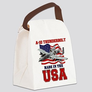 A-10 Thunderbolt Canvas Lunch Bag