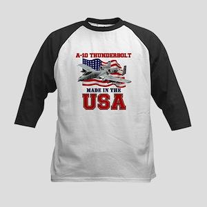 A-10 Thunderbolt Kids Baseball Jersey