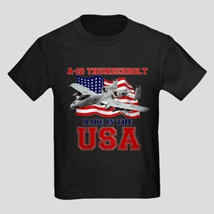 A-10 Thunderbolt Kids Dark T-Shirt