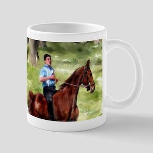 Amish Boy and Girls Mugs