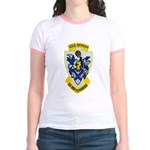 USS McKEAN Jr. Ringer T-Shirt