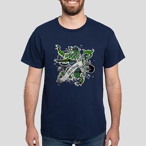 Stirling Tartan Lion Dark T-Shirt