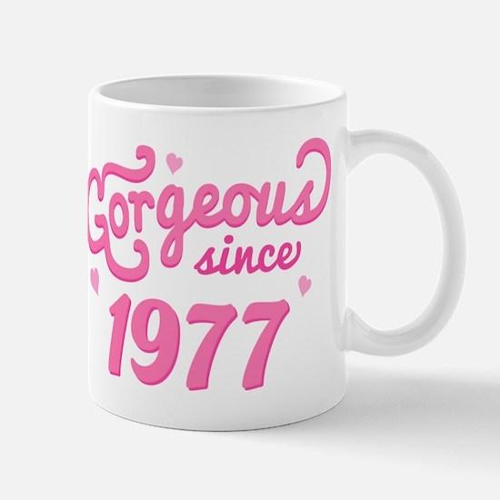 1977 Birth Year Gorgeous Mug