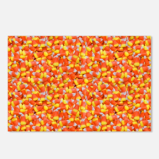 Funny Halloween candy Postcards (Package of 8)
