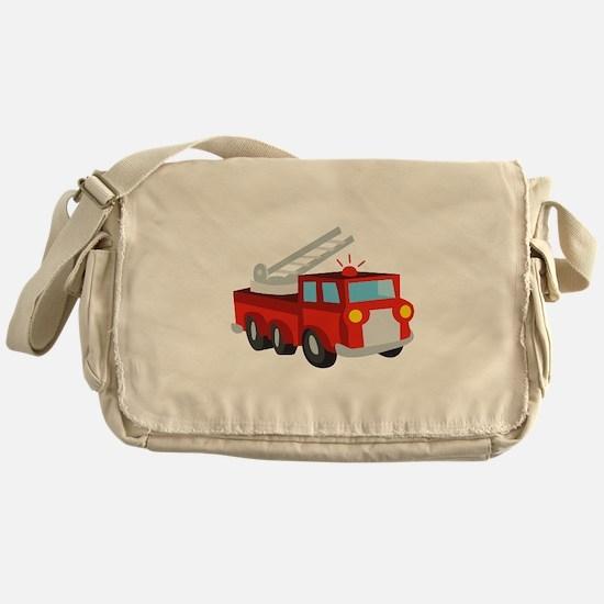 Fire Truck Messenger Bag