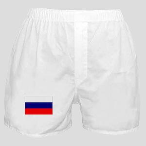 russian federation flag Boxer Shorts
