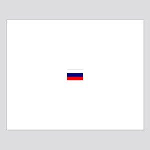 russian federation flag Small Poster