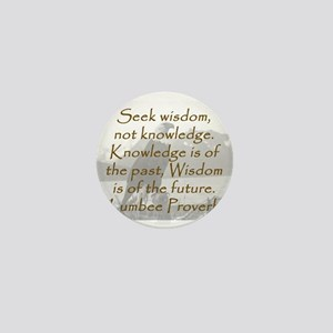 Seek Wisdom Mini Button