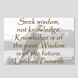 Seek Wisdom Postcards (Package of 8)