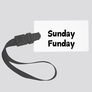 Sunday Funday Luggage Tag