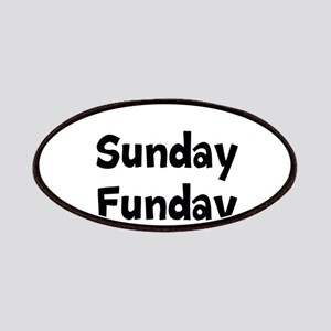 Sunday Funday Patches
