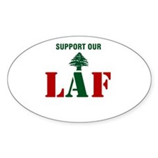 Support our LAF Oval Sticker