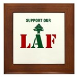 Support our LAF Framed Tile