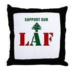 Support our LAF Throw Pillow