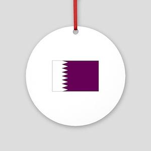qatar flag Ornament (Round)