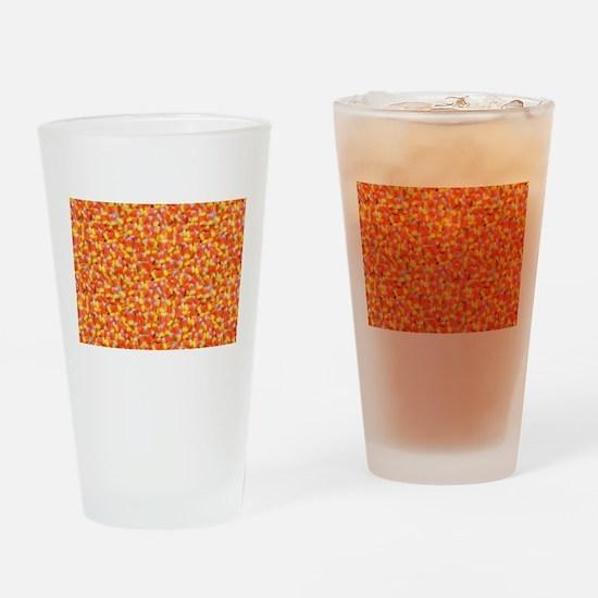 halloween candy corn Drinking Glass