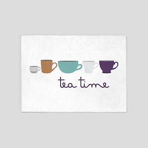 Tea Time 5'x7'Area Rug