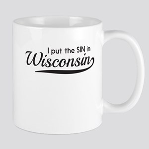 I put the SIN in Wisconsin Mugs