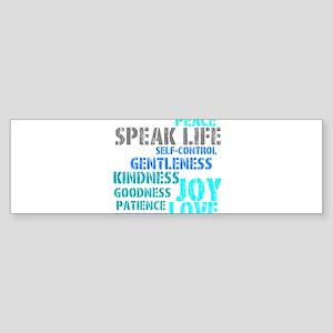 SPEAK LIFE Bumper Sticker
