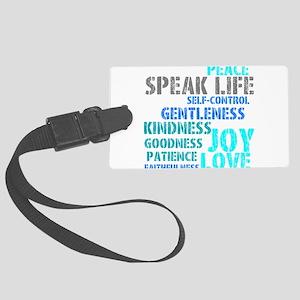 SPEAK LIFE Luggage Tag