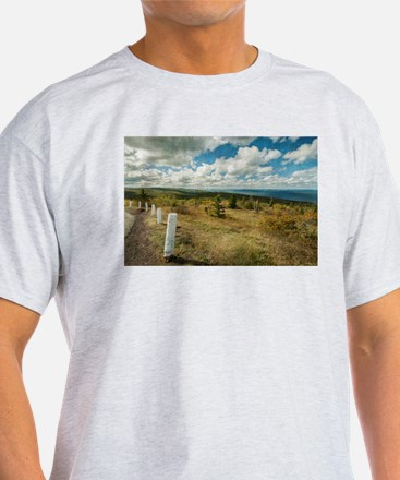 View from Brockway Mountain T-Shirt