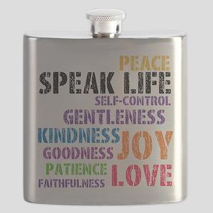 SPEAK LIFE Flask